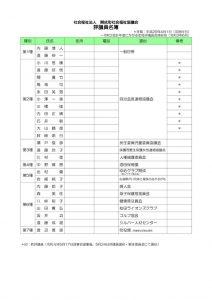 評議員名簿のサムネイル